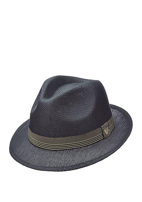4f0ed6e3c19f0 Dorfman Vented Matt Toyo Fedora Hat