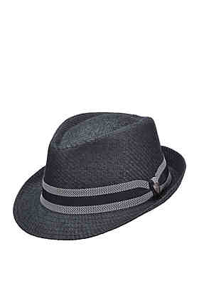 05c8277e37738 Dorfman Woven Toyo Fedora Hat ...