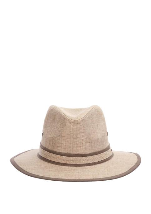Mens Wide Brim Safari Hat