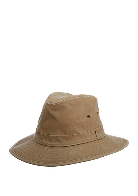 Dorfman Packable Safari Hat