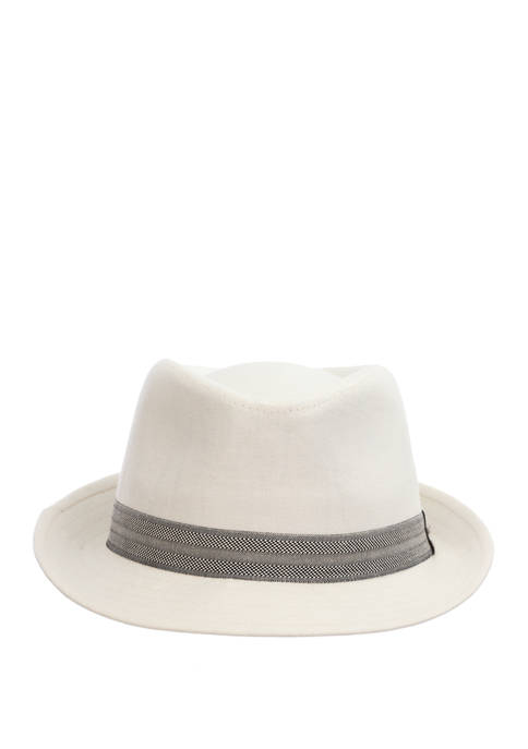 Mens Cotton Club Fedora Hat