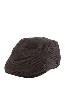 Brushed Houndstooth Driver Hat