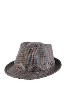 Houndstooth Club Fedora Hat