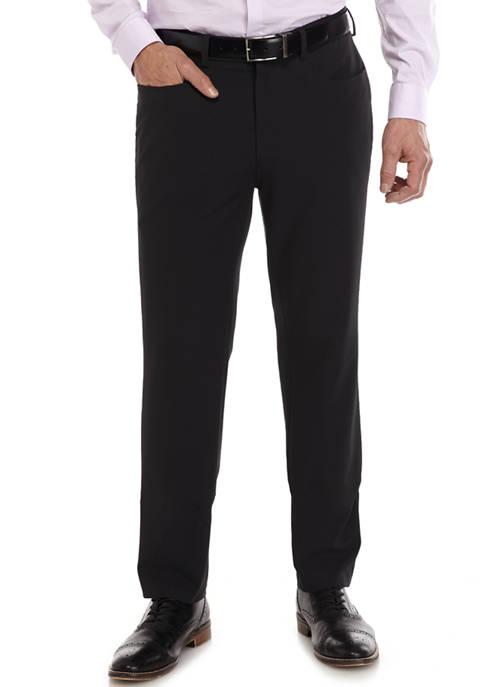 Madison Extra Slim Fit Black Suit Separate Pants