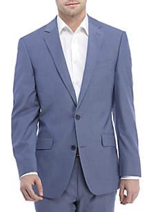 Madison Blue Chambray Stretch Coat