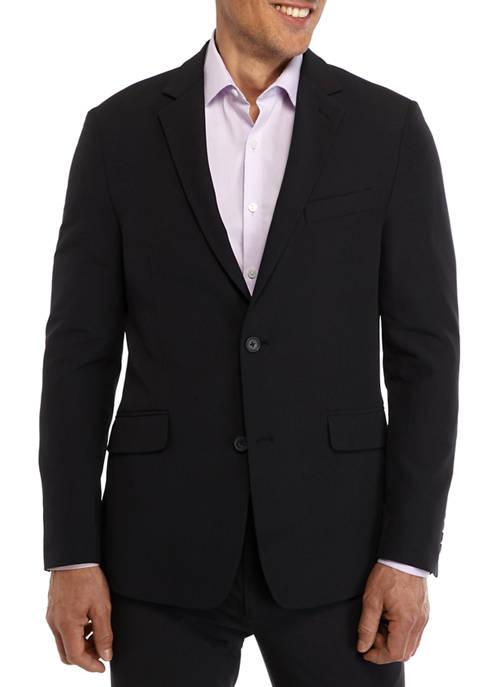 Madison Extra Slim Fit Black Suit Separate Coat