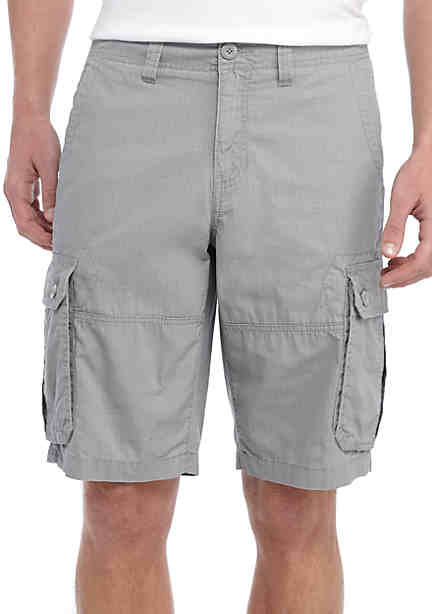 TRUE CRAFT Rip Stop Cargo Shorts ...