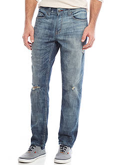 Red Camel® Slim Fit Straight Leg Stretch Jeans