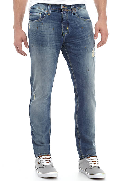 TRUE CRAFT Slim Legacy Stretch Jean