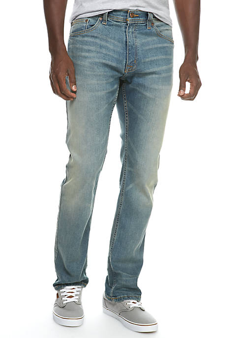 TRUE CRAFT Straight Stretch Heritage Jeans