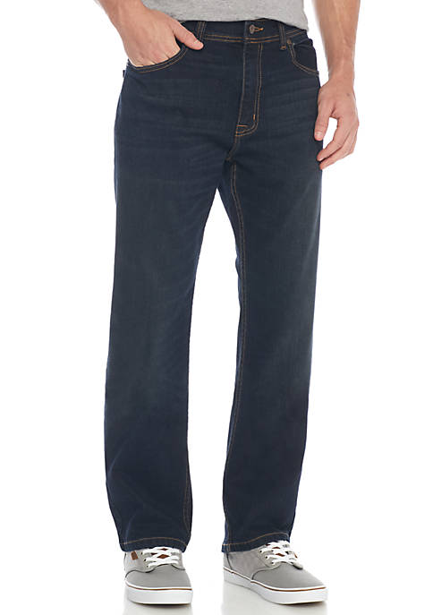 TRUE CRAFT Relaxed Fit Meyer Stretch Jeans