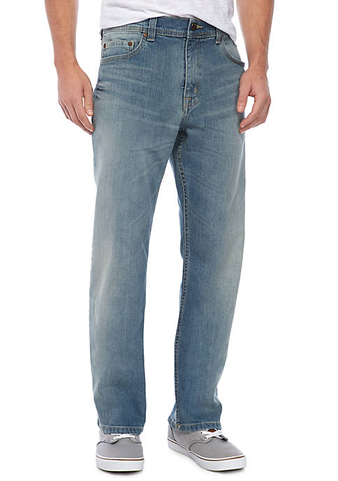 TRUE CRAFT Relaxed Phoenix Stretch Jeans