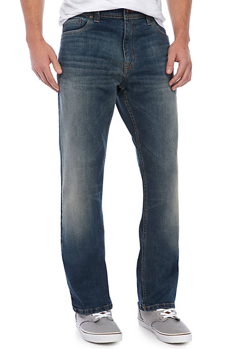 TRUE CRAFT Relaxed Wheely Stretch Jeans