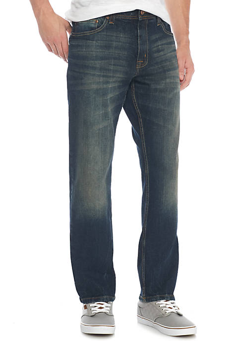 TRUE CRAFT Athletic Captain Stretch Jean