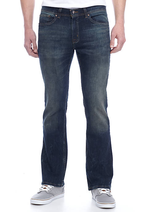 TRUE CRAFT Bootcut Captain Stretch Jeans