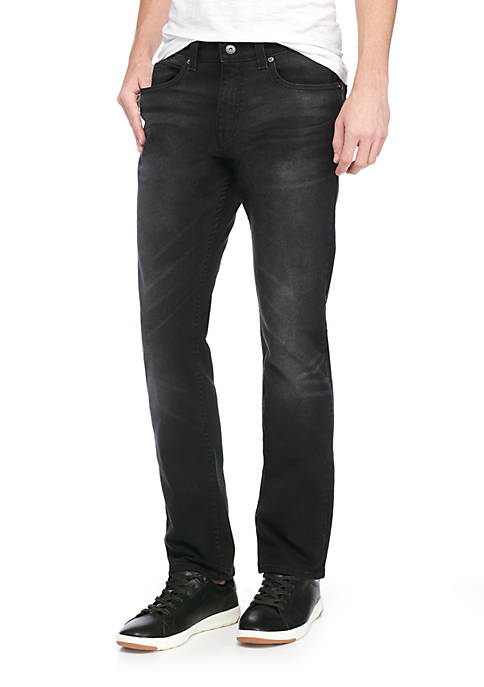 TRUE CRAFT Slim Fit Coal Stretch Jeans