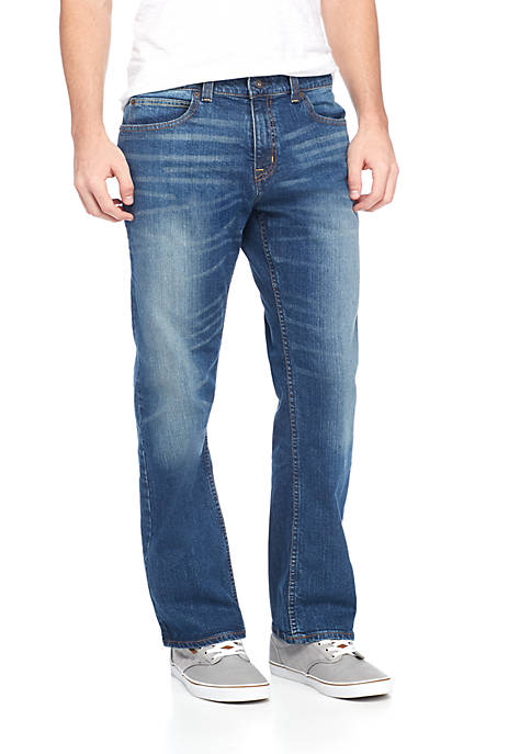 Stretch Relaxed Fit Jeans