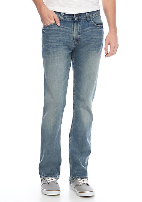 TRUE CRAFT Boot Cut Heritage Stretch Jeans