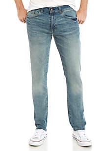 TRUE CRAFT Tapered Heritage Jeans