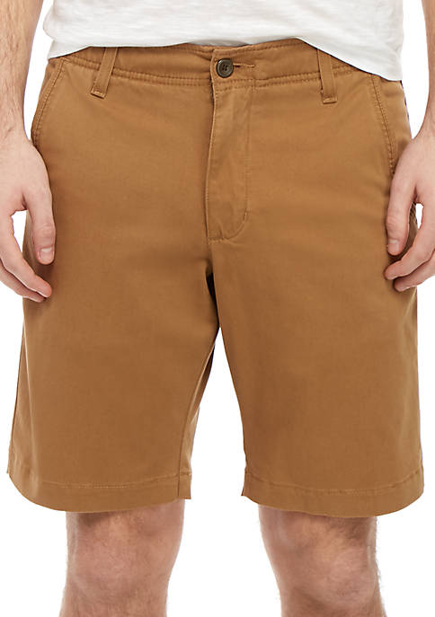 11 in Flat Front Shorts