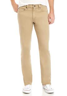 TRUE CRAFT Straight Fit Khaki Jeans