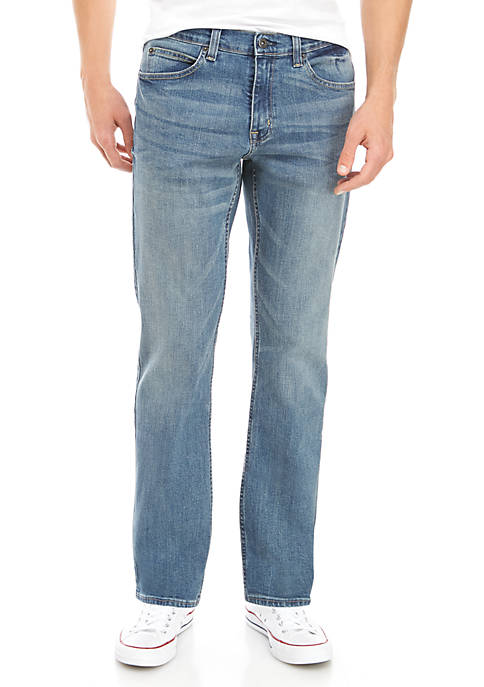 True Craft Men's Nash Athletic Jeans