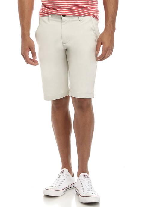 11 Inch Stretch Chino Shorts