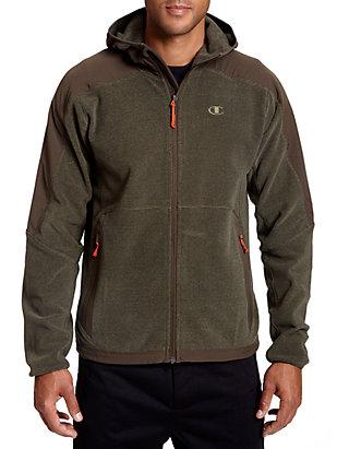68a8e065d0b Champion® Hooded Textured Fleece Jacket