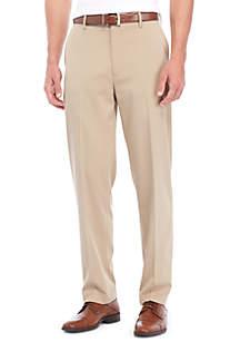 Saddlebred® Big & Tall Comfort Waist Micro Stretch Flat  Front Pants