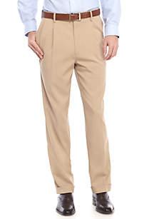 Stretch Comfort Waist Straight Fit Pants