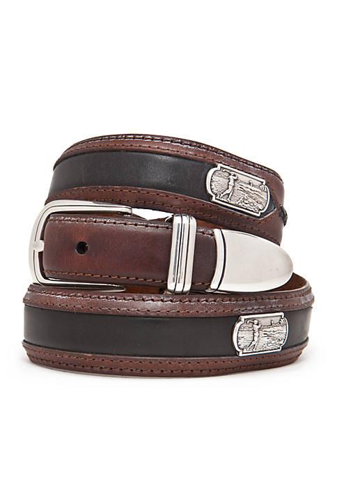Leegin Roberts Leather Golf Belt