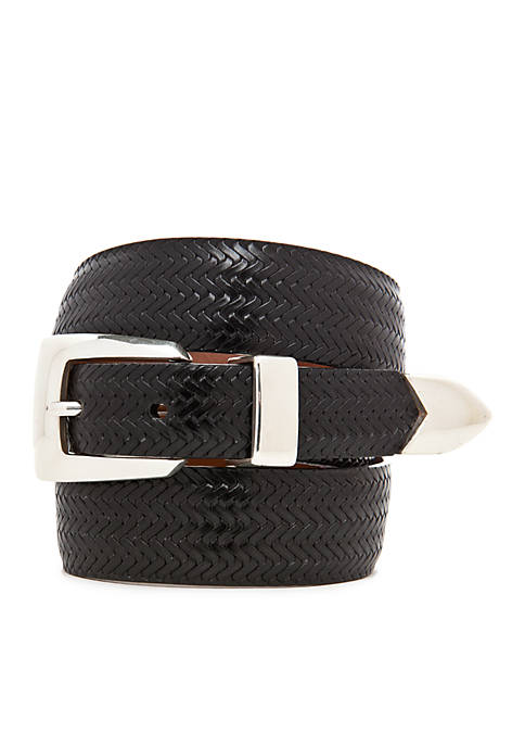 Leegin Avalon Leather Basketweave Belt