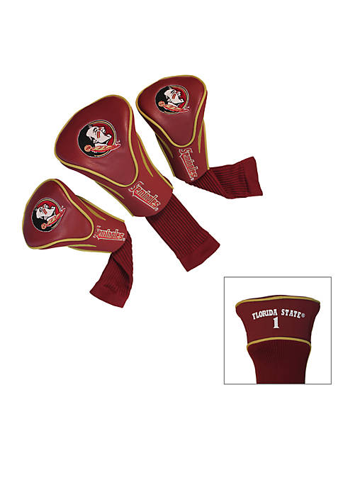Team Golf Florida State Seminoles 3-Pack Contour Head