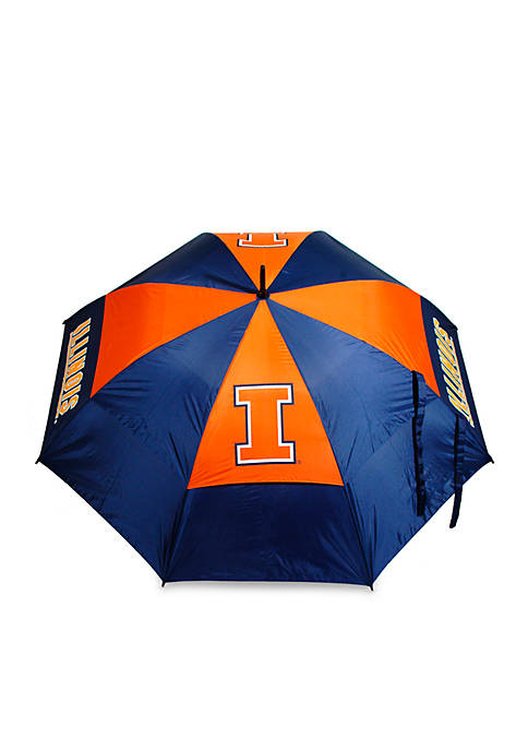 Team Golf Illinois Fighting Lllini Umbrella