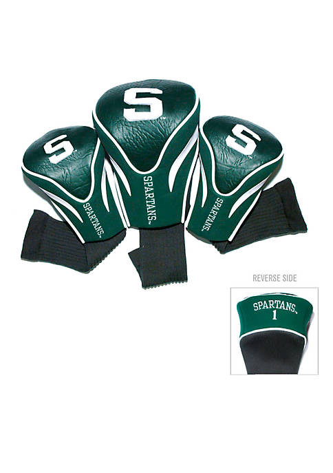 Team Golf Michigan State Spartans 3-Pack Contour Head