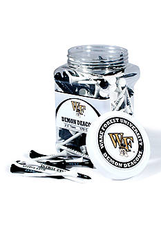 Team Golf Wake Forest Demon Deacons 175 Count Imprinted Tee Jar