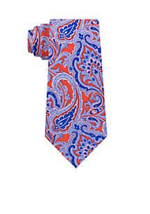 Pumice Paisley Tie