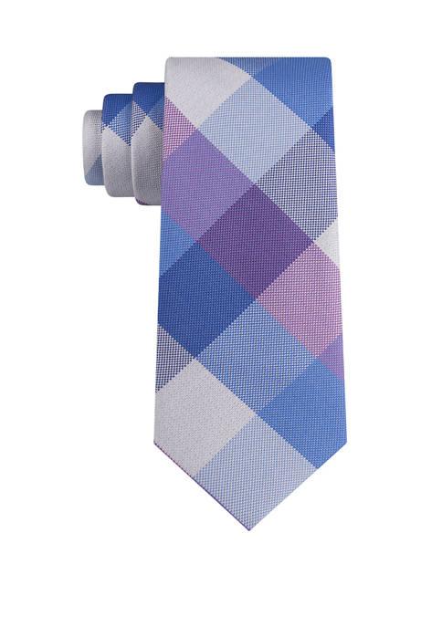 IZOD Weaver Plaid Tie