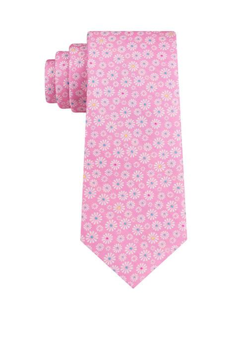 IZOD Pinwheel Flower Tie