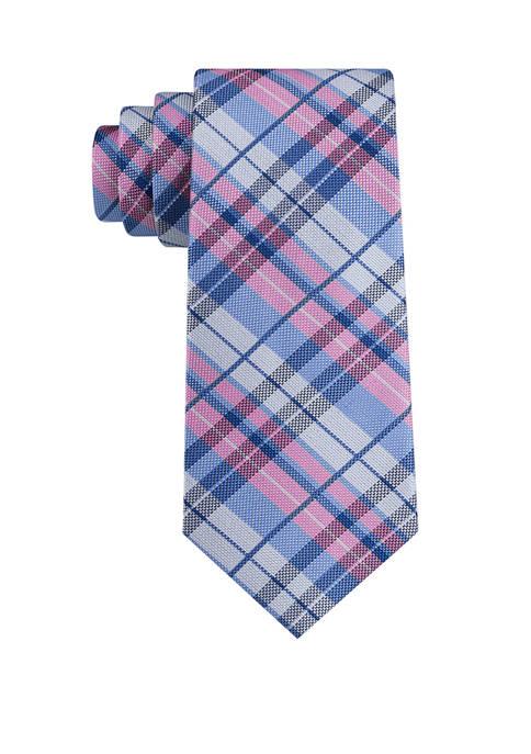 IZOD Fulton Plaid Tie