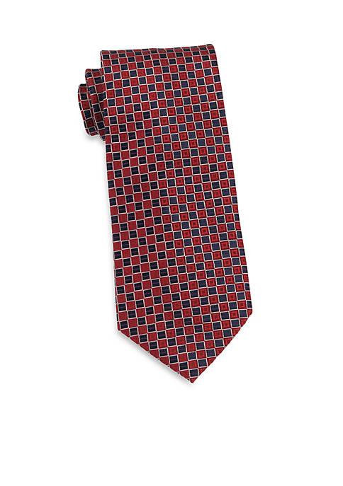 IZOD Micro Square Woven Tie