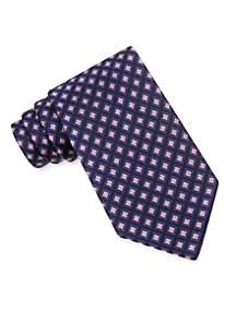 Micro Square Woven Tie