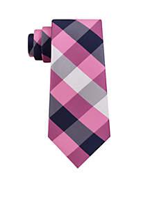 Redhawk Plaid Necktie