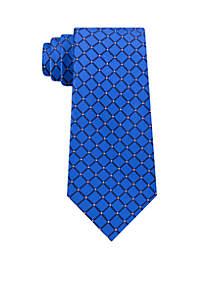 Jasper Grid Necktie