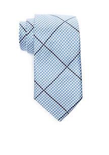 Monaco Plaid Necktie
