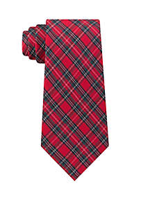 Joy Plaid Tie