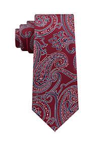 Preppy Paisley Print Neck Tie