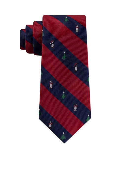 Penguin Stripe Tie