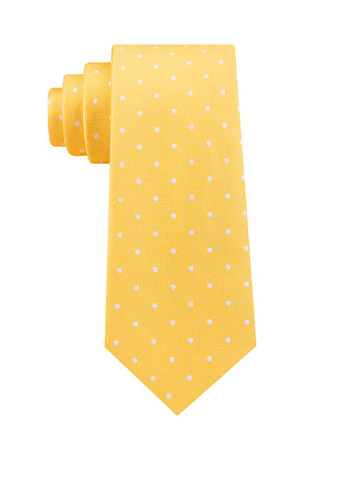 IZOD Mac Dougal Dot Printed Tie