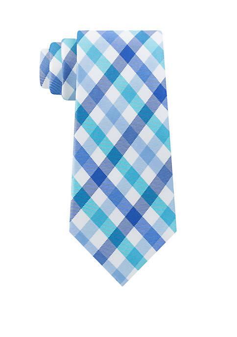 IZOD Lexington Gingham Tie